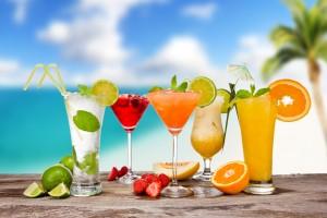 Cocktails pour l'été