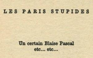 Les paris stupides - Jacques Prévert
