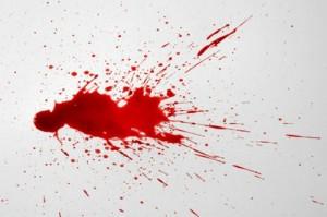 Jet de sang