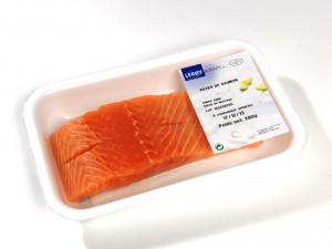 Pavés de saumon sous atmosphère protectrice