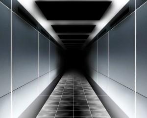 Sombre couloir