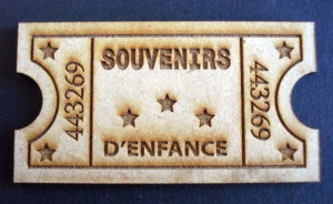 Ticket de bois