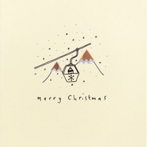 Merry Christmas (Pencil Shavings Cards by Ruth Jackson)