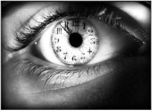 L'œil horloge