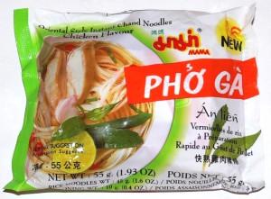 Soupe Vermicelles de Riz Mama Pho Ga (Poulet)
