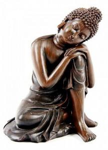 Bouddha tête penchée