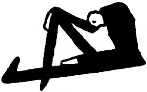 Homme assis avec la tête penchée (Kafka)