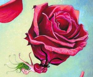 Rose défunte