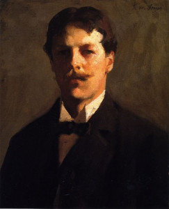 Self portrait (Franck Weston Benson)