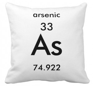 Coussin arsenic