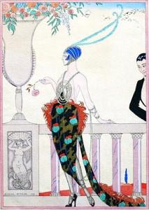 Laissez-moi seule !  (par George Barbier, 1919)