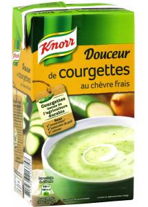 Douceur de courgettes Knorr