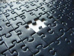 Puzzle noir