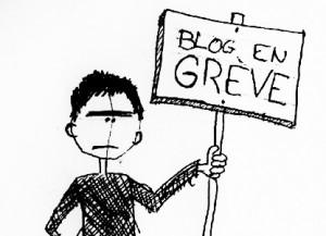 Blog en grève
