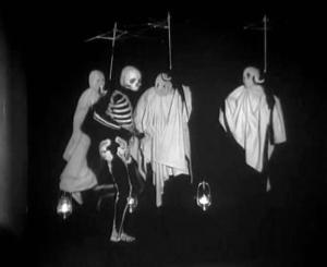 Danse macabre (La règle du jeu, 1939)