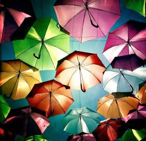 Parapluies de couleurs (Portugal)