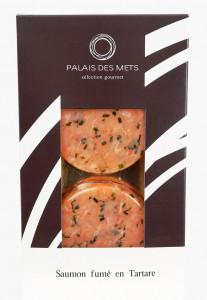 Saumon fumé en tartare - Palais des Mets