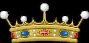 Couronne héraldique française de vicomte