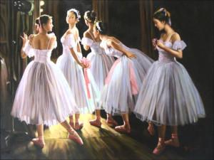 Des ballerines