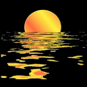 Soleil noyé
