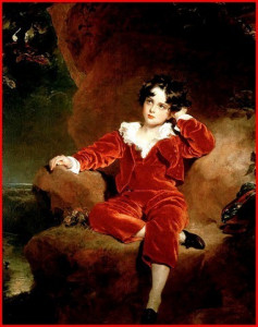 The Red Boy - Master Charles William Lambton (1825) by Thomas Lawrence